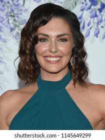 LOS ANGELES - JUL 26:  Taylor Cole arrives to the Hallmark Channel Summer TCA Event  on July 26, 2018 in Hollywood, CA