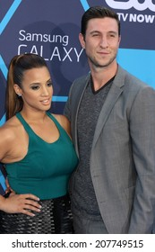 LOS ANGELES - JUL 27:  Dascha Polanco, Pablo Schreiber at the 2014 Young Hollywood Awards  at the Wiltern Theater on July 27, 2014 in Los Angeles, CA