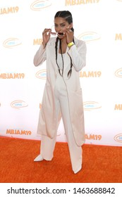 LOS ANGELES - JUL 27:  Lilly Singh at the 3rd Annual MBJAM19 at the Dave & Busters on July 27, 2019 in Los Angeles, CA