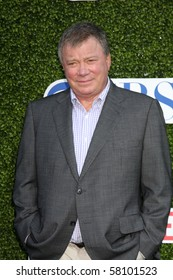 LOS ANGELES - JUL 28:  William Shatner arrives at the 2010 CBS, The CW, Showtime Summer Press Tour Party  at The Tent Adjacent to Beverly Hilton Hotel on July 28, 2010 in Beverly Hills, CA ...