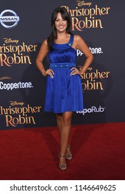 "LOS ANGELES - JUL 30:  Paula Garces arrives to the ""Christopher Robin"" World Premiere  on July 30, 2018 in Hollywood, CA"