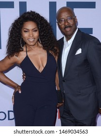 "LOS ANGELES - JUL 31:  Angela Bassett, Courtney B. Vance at the ""Otherhood"" Photo Call at the Egyptian Theater on July 31, 2019 in Los Angeles, CA"