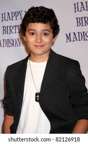 LOS ANGELES - JUL 31:  Eric Unger arriving at the13th Birthday Party for Madison Pettis at Eden on July 31, 2011 in Los Angeles, CA