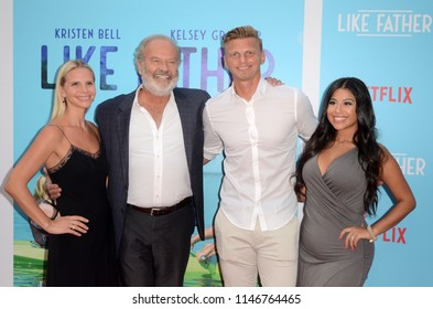 "LOS ANGELES - JUL 31:  Kayte Walsh, Kelsey Grammer, Guests at the ""Like Father"" Premiere at the ArcLight Theater on July 31, 2018 in Los Angeles, CA"
