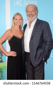 "LOS ANGELES - JUL 31:  Kayte Walsh, Kelsey Grammer at the ""Like Father"" Premiere at the ArcLight Theater on July 31, 2018 in Los Angeles, CA"
