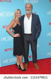 LOS ANGELES - JUL 31:  Kelsey Grammer and Kayte Walsh arrives to the 'Like Father' Los Angeles Premiere  on July 31, 2018 in Hollywood, CA