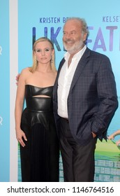 "LOS ANGELES - JUL 31:  Kristen Bell, Kelsey Grammer at the ""Like Father"" Premiere at the ArcLight Theater on July 31, 2018 in Los Angeles, CA"