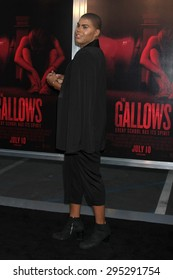 """LOS ANGELES - JUL 7:  EJ Johnson at the """"The Gallows"""" Premiere at the Hollywood High School on July 7, 2015 in Los Angeles, CA"""