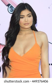 LOS ANGELES - JUL 7: Kylie Jenner at the prettylittlething.com launch party at a private residence on July 7, 2016 in Los Angeles, California