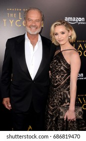 "LOS ANGELES - July 27:  Kelsey Grammer, Greer Grammer at ""The Last Tycoon"" Premiere at the Harmony Gold Theater on July 27, 2017 in Los Angeles, CA"