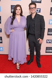 LOS ANGELES - JUN 02:  Katrina Weidman and Jack Osbourne arrives for the Critics Choice Reels Awards on June 02, 2019 in Beverly Hills, CA