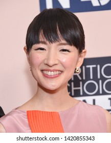 LOS ANGELES - JUN 02:  Marie Kondo arrives for the Critics Choice Reels Awards on June 02, 2019 in Beverly Hills, CA