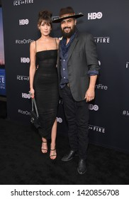 LOS ANGELES - JUN 05:  Jonah Johnson and Shelby Bullard arrives for the HBO 'Ice On Fire' Premiere on June 05, 2019 in Hollywood, CA