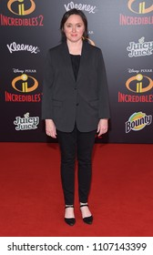 "LOS ANGELES - JUN 05:  Sarah Vowell arrives to the ""Incredibles 2"" World Premiere  on June 5, 2018 in Hollywood, CA"