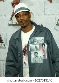 LOS ANGELES - JUN 05:  Snoop Dogg arrives to the Mtv Movie Awards  on June 5, 2004 in Culver City, CA.