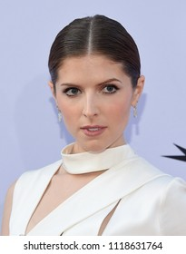LOS ANGELES - JUN 07:  Anna Kendrick arrives for the AFI Lifetime Achievement Awards to George Clooney on June 07, 2018 in Hollywood, CA