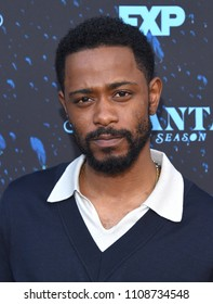 "LOS ANGELES - JUN 08:  Lakeith Stanfield arrives to the ""Atlanta"" Robbin Season FYC Event  on June 8, 2018 in Hollywood, CA"