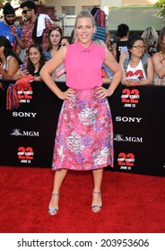 "LOS ANGELES - JUN 09:  Busy Philipps arrives to the ""22 Jump Street"" World Premiere  on June 09, 2014 in North Hollywood, CA"