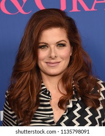 """LOS ANGELES - JUN 09:  Debra Messing arrives for the """"Will & Grace"""" FYC Event on June 9, 2018 in Hollywood, CA"""