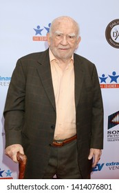 LOS ANGELES - JUN 1:  Ed Asner at the 7th Annual Ed Asner Poker Tournament at the CBS Studio Center on June 1, 2019 in Studio City, CA