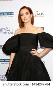 LOS ANGELES - JUN 1:  Zoey Deutch at the 18th Annual Chrysalis Butterfly Ball at the Private Residence on June 1, 2019 in Los Angeles, CA