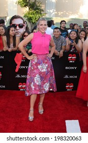 "LOS ANGELES - JUN 10:  Busy Philipps at the ""22 Jump Street"" Premiere at Village Theater on June 10, 2014 in Westwood, CA"