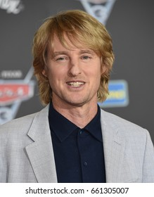 """LOS ANGELES - JUN 10:  Owen Wilson arrives for the """"Cars 3"""" Hollywood Premiere on June 10, 2017 in Anaheim, CA"""