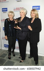 LOS ANGELES - JUN 11:  Lorna Luft, Betty Buckley, Ilene Graff at the Actors Fund's 21st Annual Tony Awards Viewing Party at the Skirball Cultural Center on June 11, 2017 in Los Angeles, CA