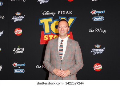 "LOS ANGELES - JUN 11:  Tony Hale at the ""Toy Story 4"" Premiere at the El Capitan Theater on June 11, 2019 in Los Angeles, CA"