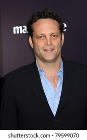 LOS ANGELES - JUN 11: Vince Vaughn at the10th Chrysalis Butterfly Ball held a private estate in Los Angeles, California on June 11, 2011.