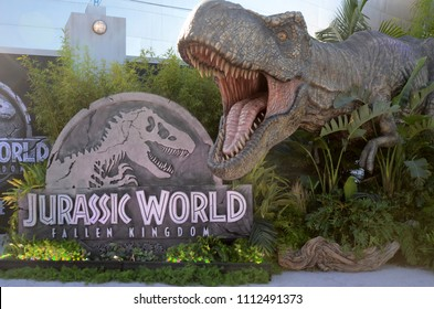 "LOS ANGELES - JUN 12:  Atmosphere at the ""Jurassic World: Fallen Kingdom"" Premiere at the Walt Disney Concert Hall on June 12, 2018 in Los Angeles, CA"