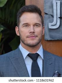 LOS ANGELES - JUN 12:  Chris Pratt arrives for the 'Jurassic World: Fallen Kingdom' Los Angeles Premiere on June 12, 2018 in Los Angeles, CA