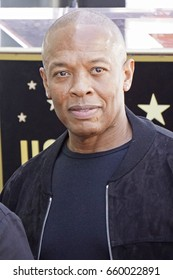LOS ANGELES - JUN 12: Dr Dre at a ceremony as Ice Cube is honored with a star on the Hollywood Walk of Fame on June 12, 2017 in Los Angeles, CA