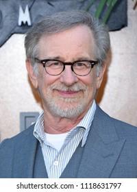 LOS ANGELES - JUN 12:  Steven Spielberg arrives for the 'Jurassic World: Fallen Kingdom' Los Angeles Premiere on June 12, 2018 in Los Angeles, CA