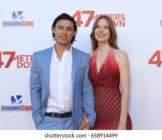 """LOS ANGELES - JUN 12:  Yani Gellman, Guest at the """"47 Meters Down"""" Premiere at the Village Theater on June 12, 2017 in Westwood, CA"""