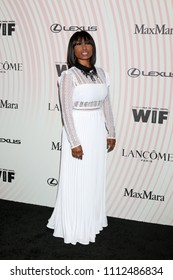 LOS ANGELES - JUN 13:  Angell Conwell at the Women In Film 2018 Crystal + Lucy Awards at the Beverly Hilton Hotel on June 13, 2018 in Beverly Hills, CA