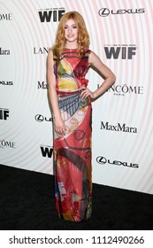 LOS ANGELES - JUN 13:  Katherine McNamara at the Women In Film 2018 Crystal + Lucy Awards at the Beverly Hilton Hotel on June 13, 2018 in Beverly Hills, CA