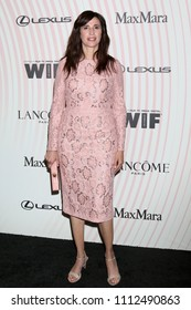LOS ANGELES - JUN 13:  Michaela Watkins at the Women In Film 2018 Crystal + Lucy Awards at the Beverly Hilton Hotel on June 13, 2018 in Beverly Hills, CA