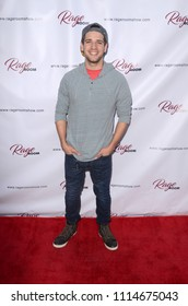"LOS ANGELES - JUN 14:  Brandon Tyler Russell at the ""Rage Room"" FYC Event at the Rage Ground DTLA on June 14, 2018 in Los Angeles, CA"