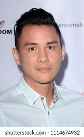 "LOS ANGELES - JUN 14:  Hank Chen at the ""Rage Room"" FYC Event at the Rage Ground DTLA on June 14, 2018 in Los Angeles, CA"