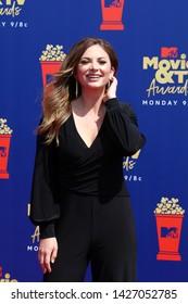 LOS ANGELES - JUN 15:  Lauren Zima at the 2019 MTV Movie & TV Awards at the Barker Hanger on June 15, 2019 in Santa Monica, CA