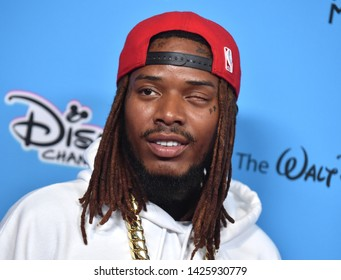 LOS ANGELES - JUN 16:  Fetty Wap arrives for the 2019 ARDYs on June 16, 2019 in Studio City, CA