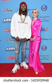 LOS ANGELES - JUN 16:  Fetty Wap and Meg Donnelly arrives for the 2019 ARDYs on June 16, 2019 in Studio City, CA