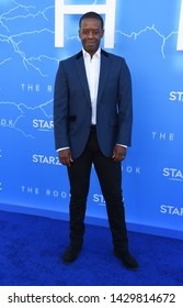 LOS ANGELES - JUN 17:  Adrian Lester arrives for the STARZ 'The Rook' Premiere on June 17, 2019 in Los Angeles, CA