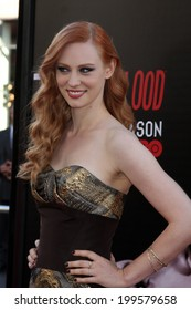 """LOS ANGELES - JUN 17:  Deborah Ann Woll at the HBO's """"True Blood"""" Season 7 Premiere Screening at the TCL Chinese Theater on June 17, 2014 in Los Angeles, CA"""