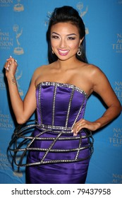 LOS ANGELES - JUN 17:  Jeannie Mai arrives at the 38th Annual Daytime Creative Arts & Entertainment Emmy Awards at Westin Bonaventure Hotel on June 17, 2011 in Los Angeles, CA