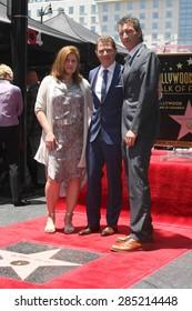 LOS ANGELES - JUN 2:  Bobby Flay, business associates at the Bobby Flay Hollywood Walk of Fame Ceremony at the Hollywood Blvd on June 2, 2015 in Los Angeles, CA