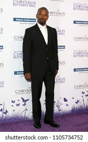 LOS ANGELES - JUN 2:  Jamie Foxx at the 17th Annual Chrysalis Butterfly Ball at Private Residence on June 2, 2018 in Los Angeles, CA