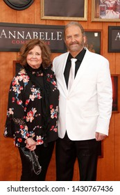 """LOS ANGELES - JUN 20:  Judy Spera, Tony Spera at the """"Annabelle Comes Home"""" Premiere at the Village Theater on June 20, 2019 in Westwood, CA"""