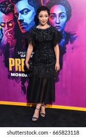 LOS ANGELES - JUN 20:  Ruth Negga arrives for the AMC Season Two 'Preacher' Premiere Screening on June 20, 2017 in Los Angeles, CA